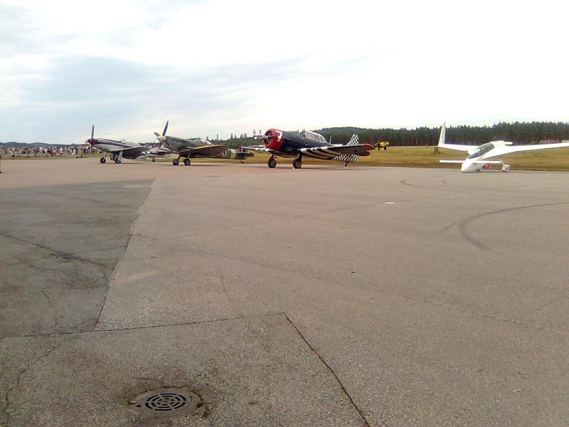 Flyguppvisning Hultsfred