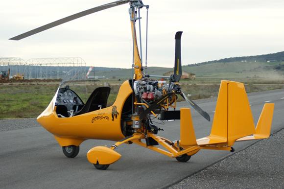 ELA gyrokopter - 07S & Cougar