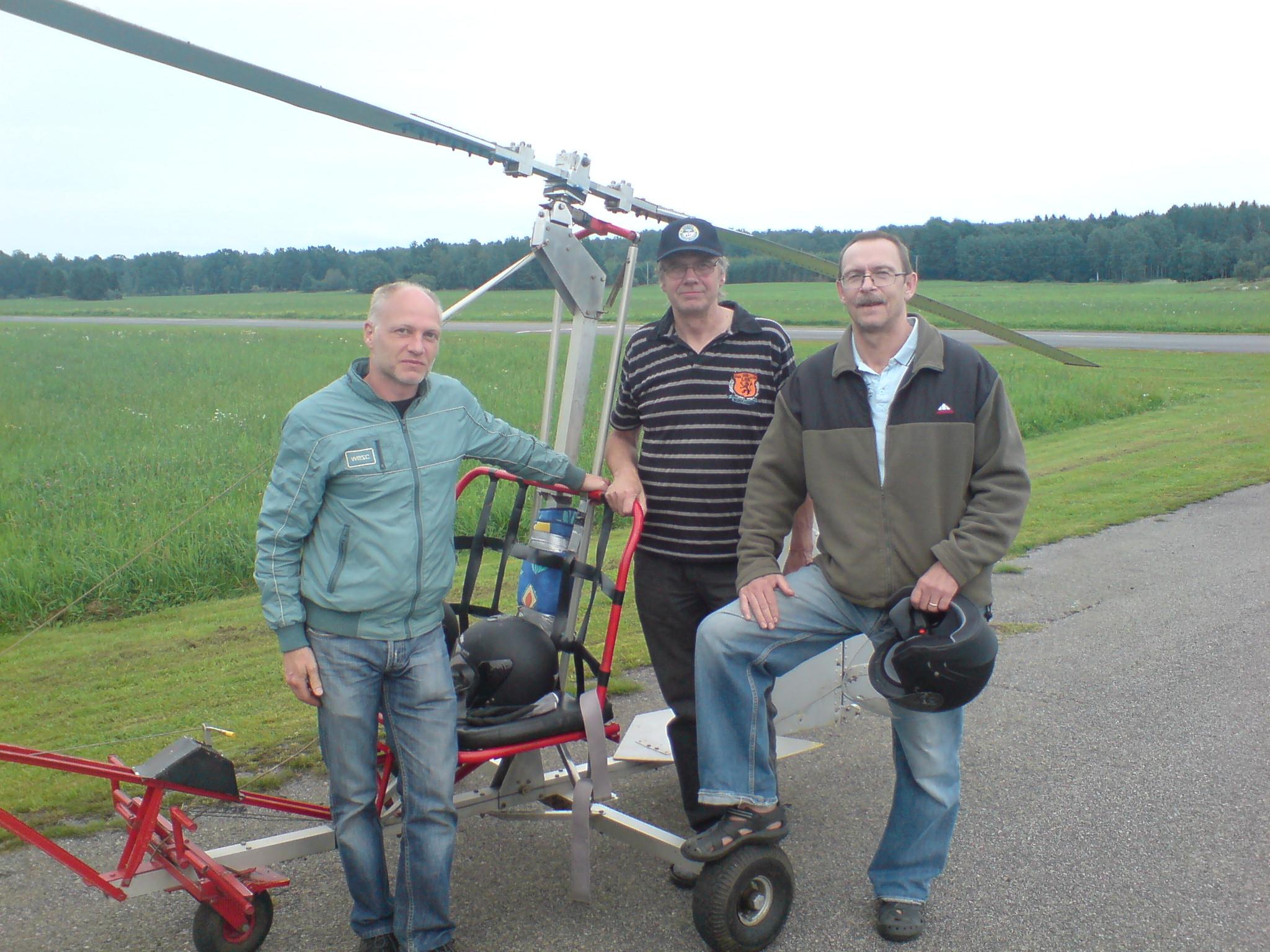 Rykande färska glider instruktörer