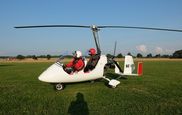 SÅLD  - Gyrokopter MTO Sport till salu