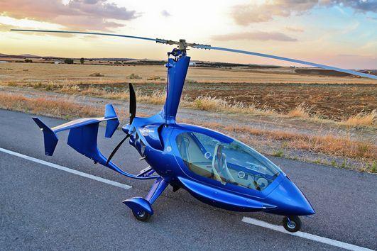 Flyguppvisning m Gyrokopter Uppdatering 24/4