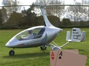 Flygpoker i Skåne 1 maj
